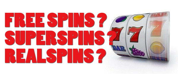 free spins real spins